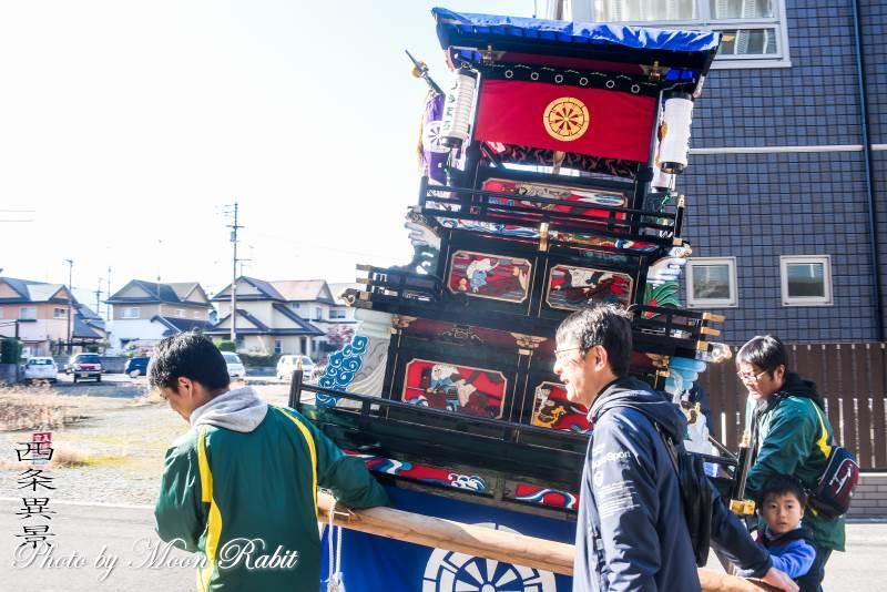 下町中組子どもだんじり(屋台) うちぬきフェスティバル2019