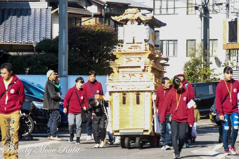 加茂町子どもだんじり(屋台) うちぬきフェスティバル2019