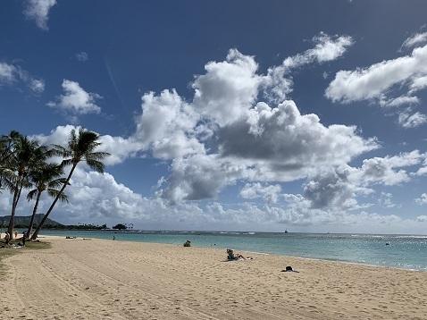 ハワイ海F