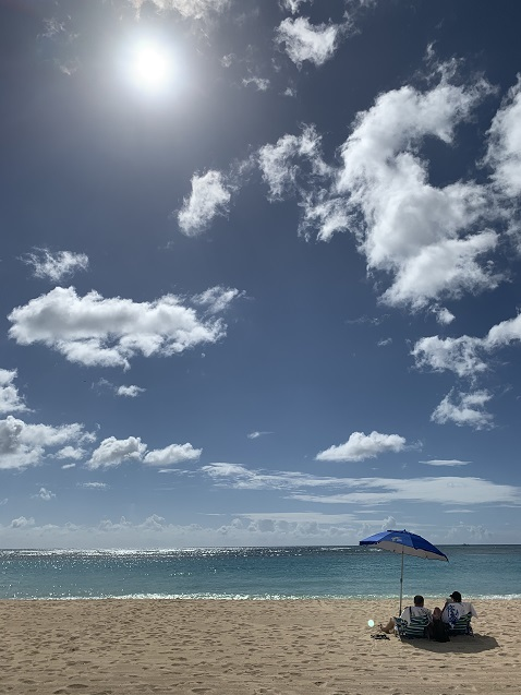 ハワイ海2
