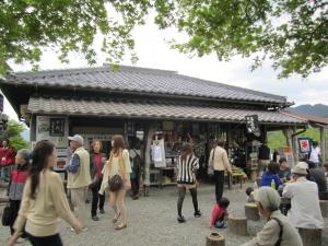 八幡城の売店