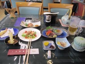 桂浜荘料理