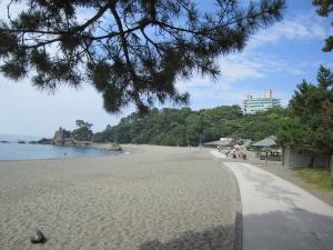 桂浜と桂浜荘